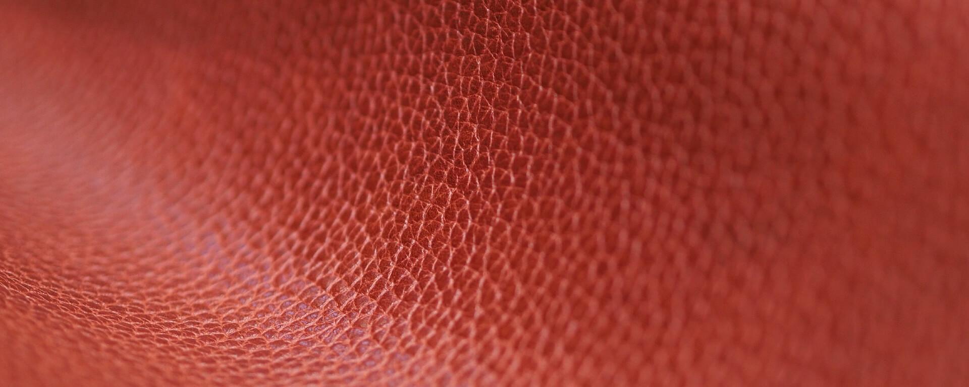 Drummed leather