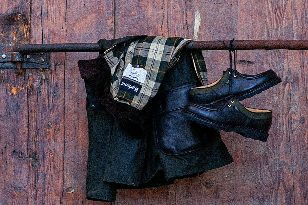 Paraboot x Barbour x International Gallery Beams