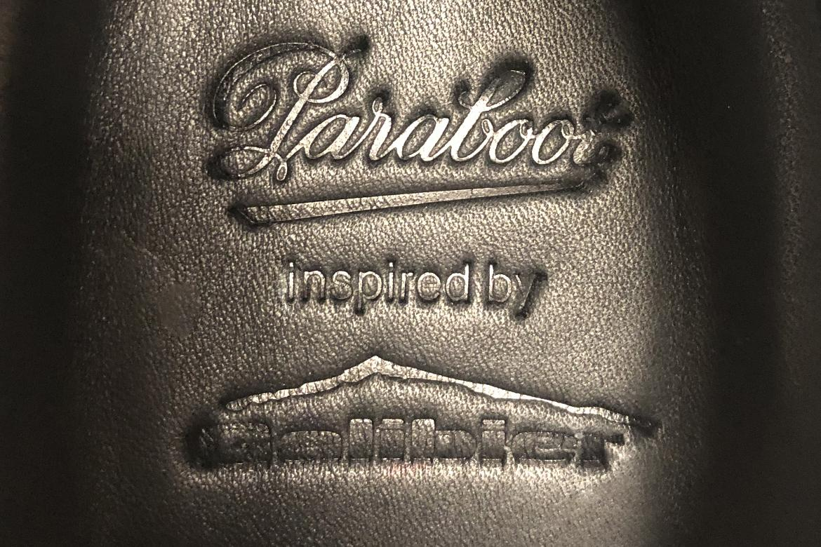 Paraboot inspired by Paraboot
