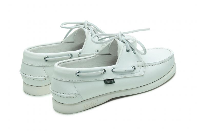 Barth f Lisse blanc - Genuine rubber sole