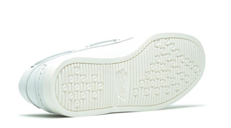Barth - cuir lisse blanc (semelle)