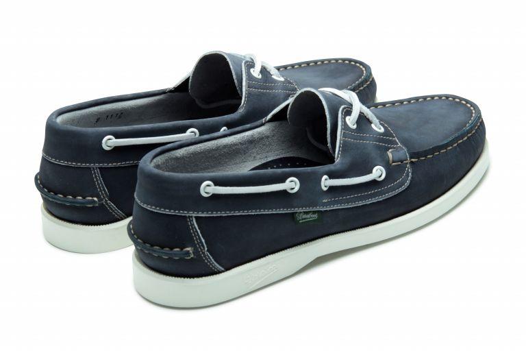 Barth Delave bleu - Genuine rubber sole