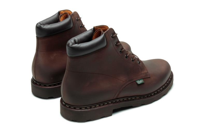 Bergerac Nubuck gringo - Genuine rubber sole