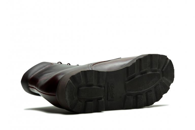 Bergerac Lisse écorce - Genuine rubber sole