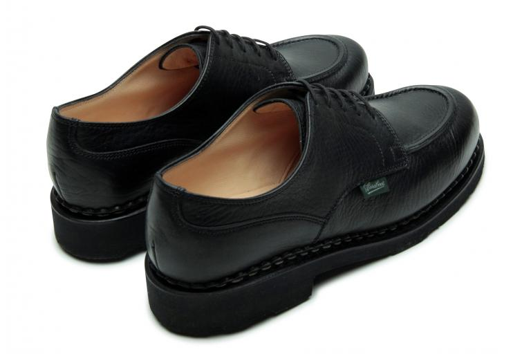 Chamade Foulonne noir - Genuine rubber sole