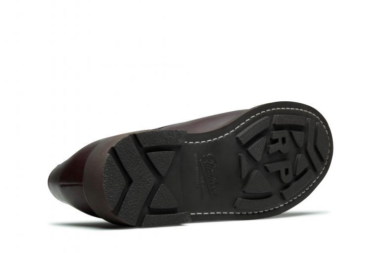 Chambord Lisse café - Genuine rubber sole