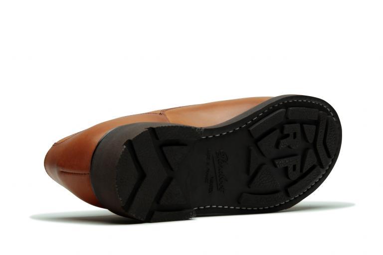 Chambord Lisse gold - Genuine rubber sole