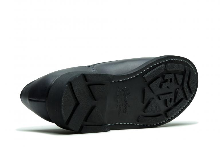 Chambord Lisse nuit - Genuine rubber sole