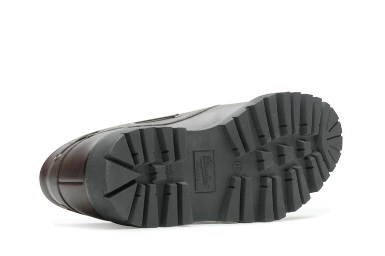 Chimey Lisse ebony - Genuine rubber sole