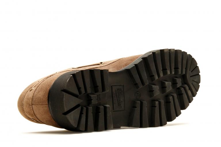 Chimey Velours smoky - Genuine rubber sole