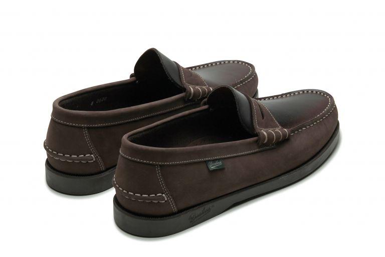Coraux Nubuck gringo/américa - Genuine rubber sole