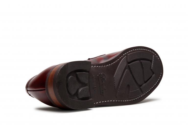 Dax Brossé bordeaux - Genuine rubber sole
