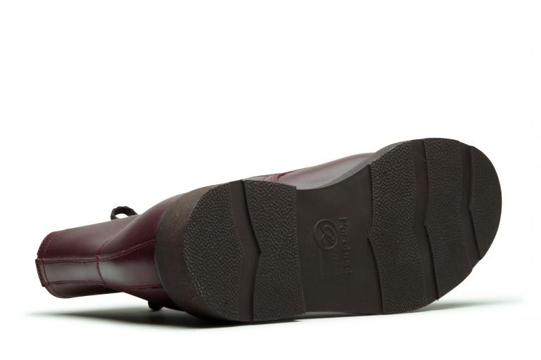 Imbattable Lisse acajou - Genuine rubber sole