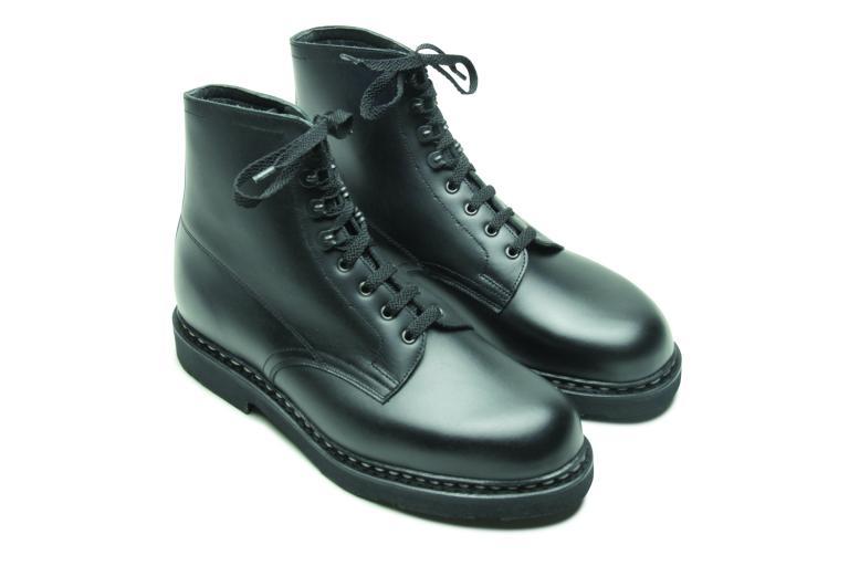 Imbattable Lis noir - Genuine rubber sole