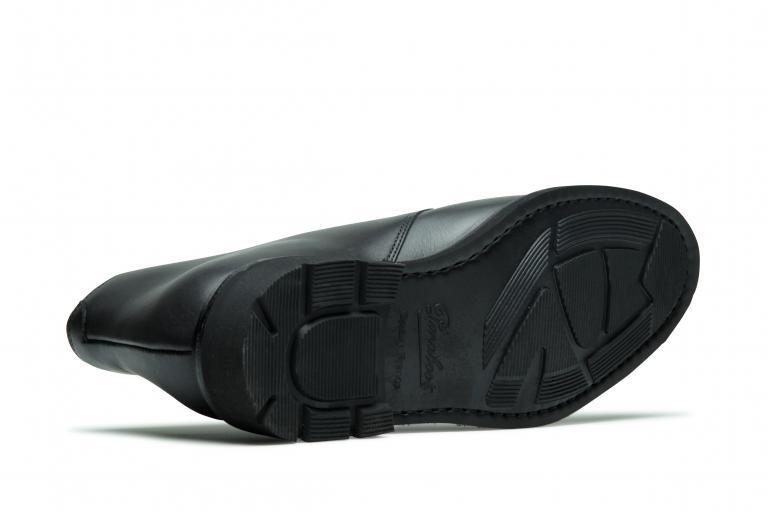 Lully Lisse noir - Genuine rubber sole