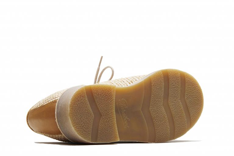 Michael - raphia miel beige (semelle)