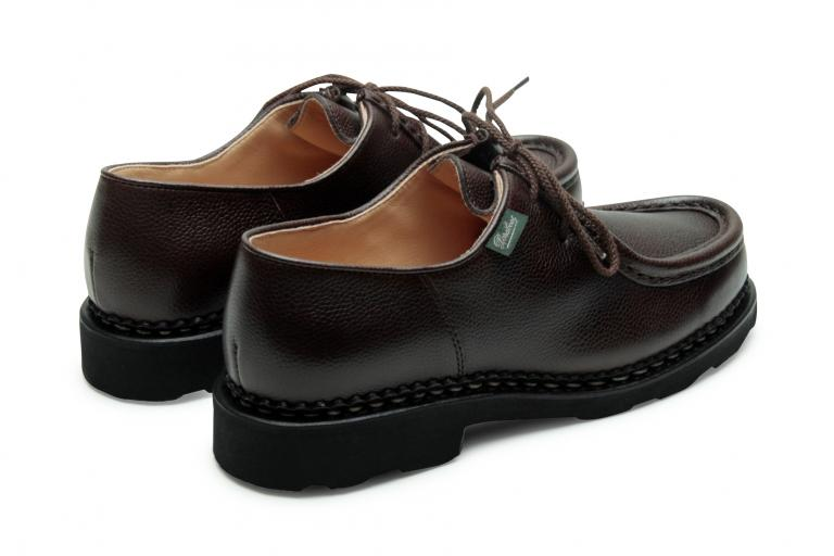 Michael Grainé moka - Genuine rubber sole