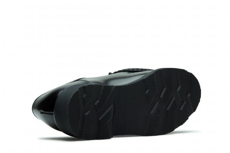 Michael Gloss noir - Genuine rubber sole