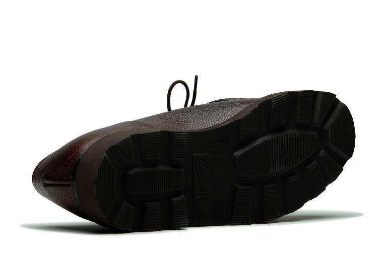 Michael Grainé ébène - Genuine rubber sole