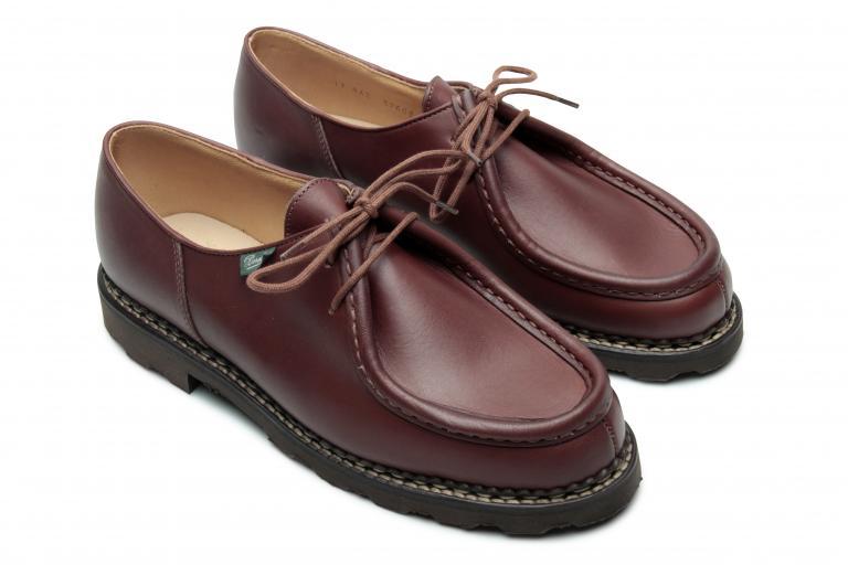Michael Lisse marron - Genuine rubber sole