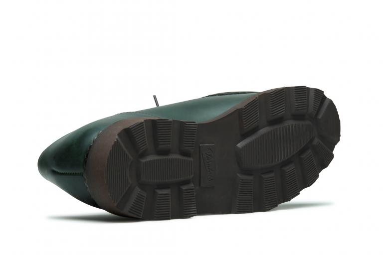 Michael Lisse vert - Genuine rubber sole
