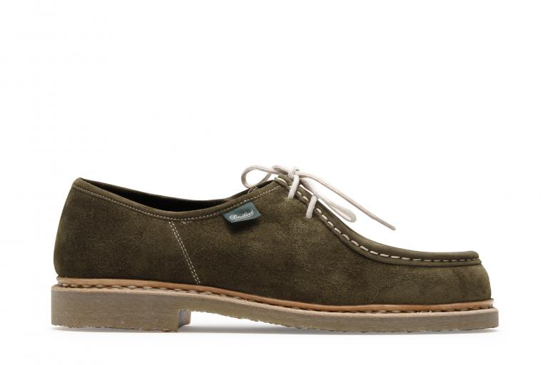 Micka Velours mousse - Genuine rubber sole