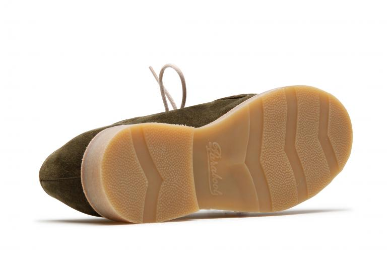 Mirabelle Velours mousse - Genuine rubber sole