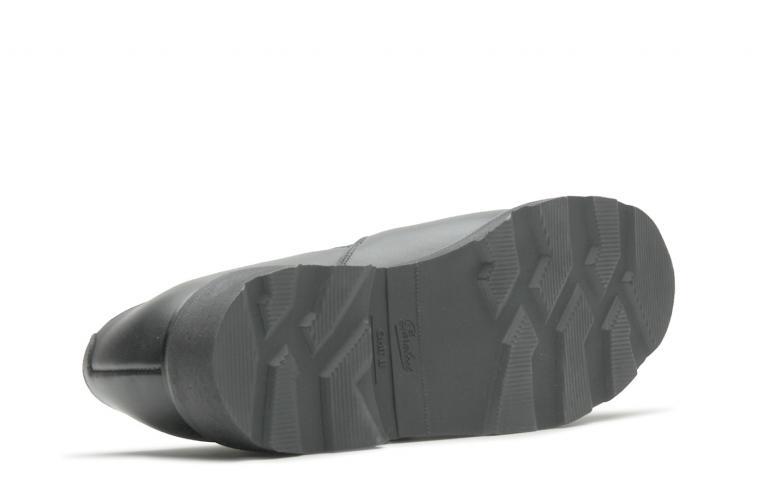 Nano - cuir lisse noir (semelle)