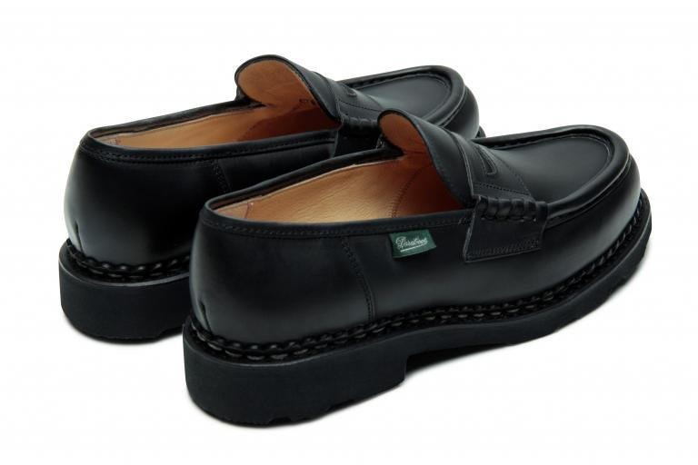 Orsay Lisse noir - Genuine rubber sole