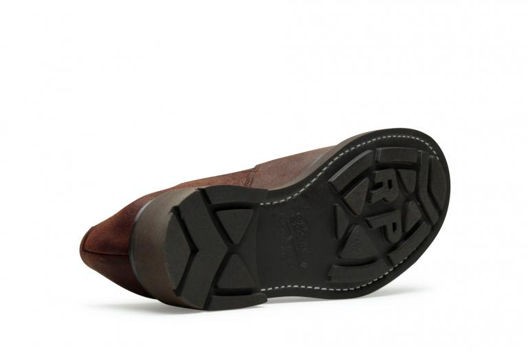 Photon Waxy marron - Genuine rubber sole
