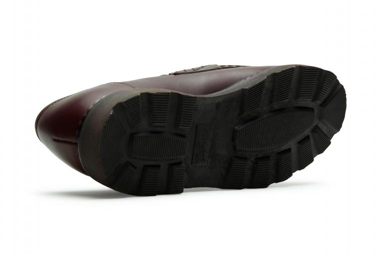 Reims Lisse café - Genuine rubber sole