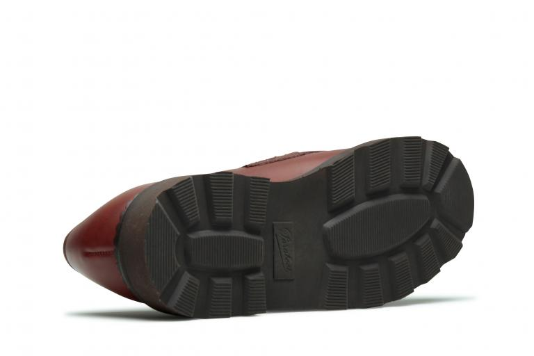Reims Lisse marron - Genuine rubber sole