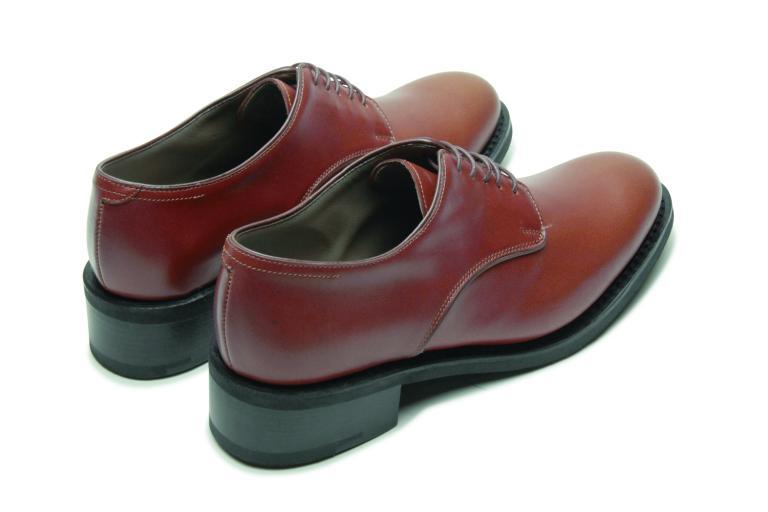 Saxo Lisse cognac - Genuine rubber sole