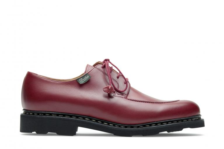 Veley Lisse rouge - Genuine rubber sole