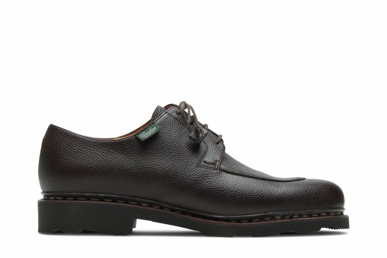 Veley Grainé moka - Genuine rubber sole
