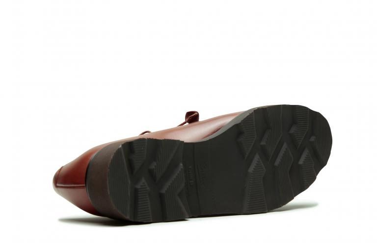 Veley Lisse fauve - Genuine rubber sole