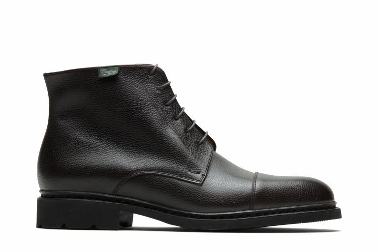 Vian Grainé moka - Genuine rubber sole