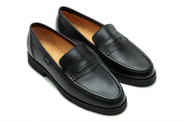 Vignony Lisse noir - Genuine rubber sole