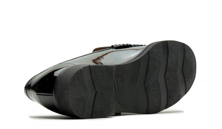 Vignony - Cuir vernis noir (semelle)