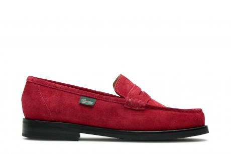 VITRY/PAVE+TAL CUIR-VEL ROUGE