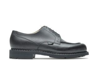 Chambord - Cuir lisse noir (modèle)