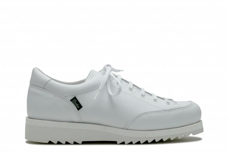 Peacewalker Foulonne blanc - Genuine rubber sole