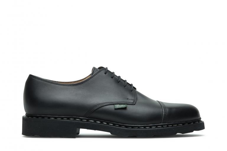 Azay Lisse noir - Genuine rubber sole