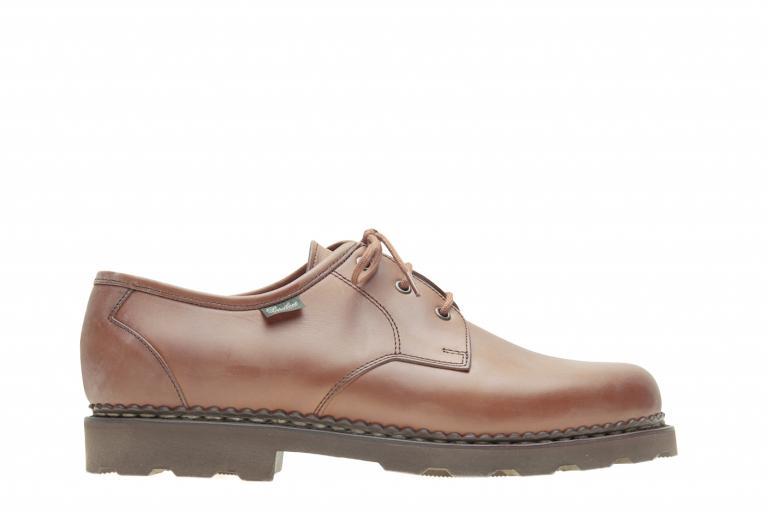 Castel Lisse marron - Genuine rubber sole