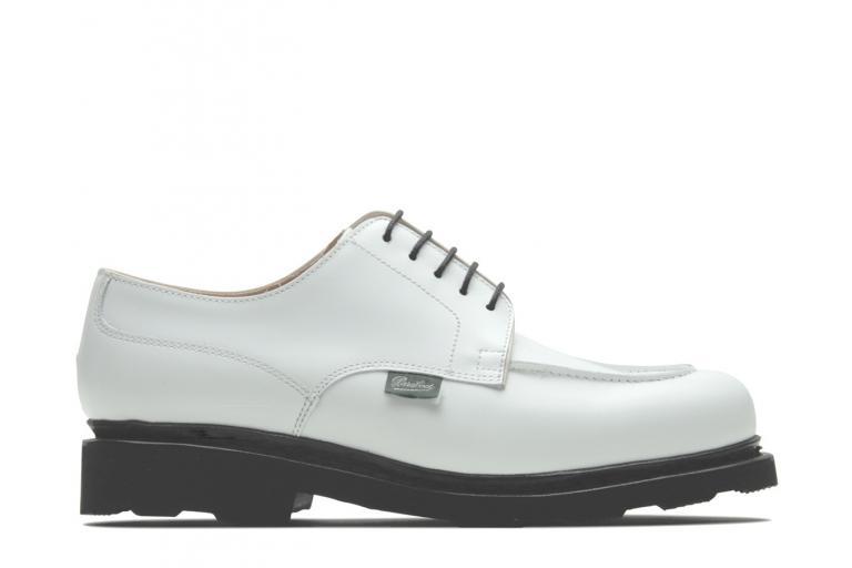 Chambord Brillant blanc - Genuine rubber sole