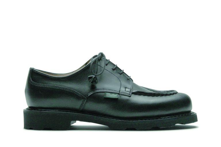 Chambord Lisse noir - Genuine rubber sole