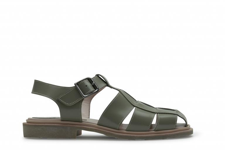 Iberis Gloss amande - Genuine rubber sole