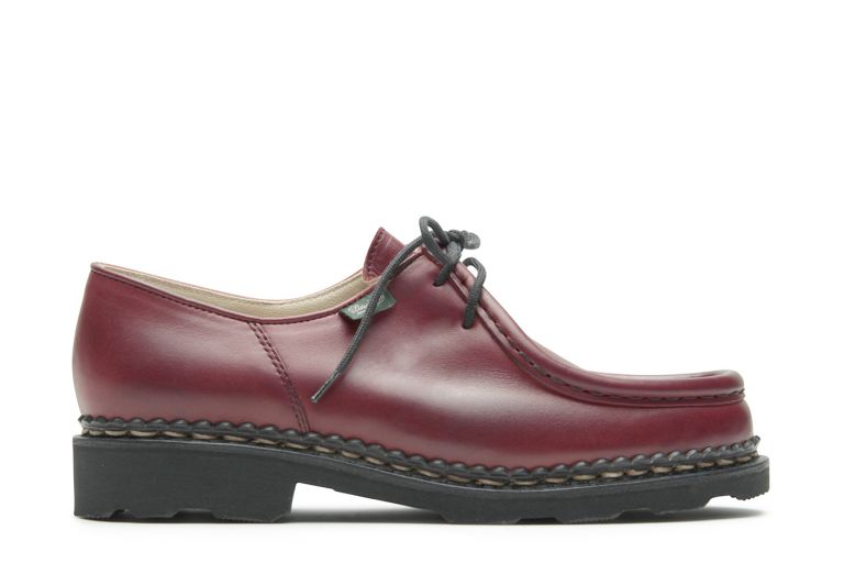 Michael Lisse rouge - Genuine rubber sole