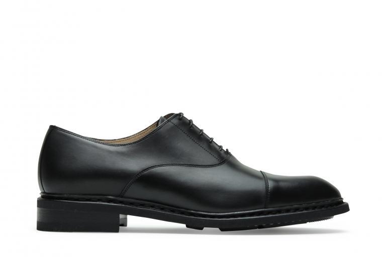 Montaigne Lisse noir - Genuine rubber sole