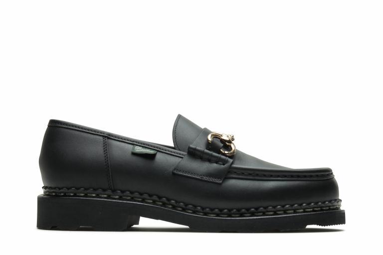 Orsayti Lis noir ink - Genuine rubber sole